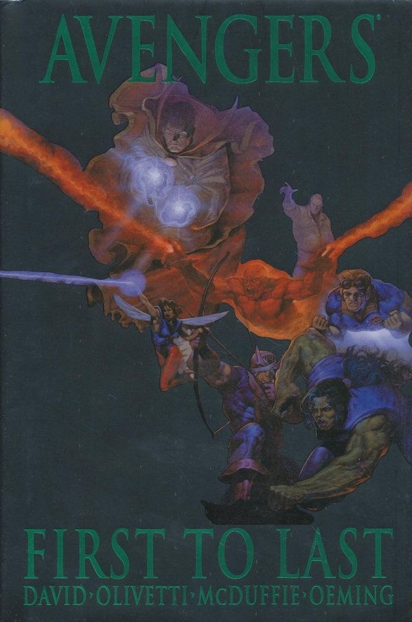 AVENGERS FIRST TO LAST HC (STANDARD COVER)