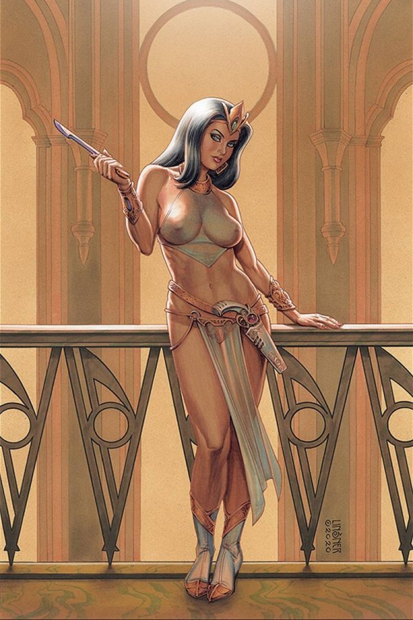 DEJAH THORIS (2019) #9 LINSNER LTD VIRGIN CVR *