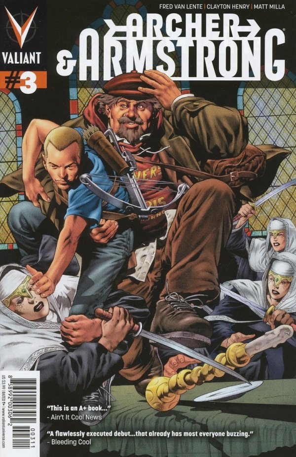 ARCHER AND ARMSTRONG #3 LOZZI CVR