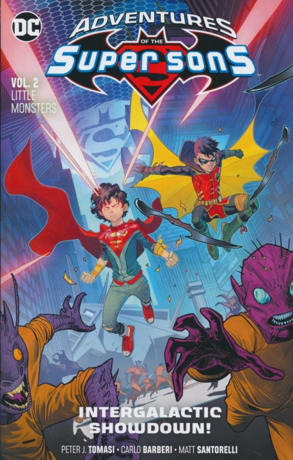 ADVENTURES OF THE SUPER SONS VOL 02 LITTLE MONSTERS SC