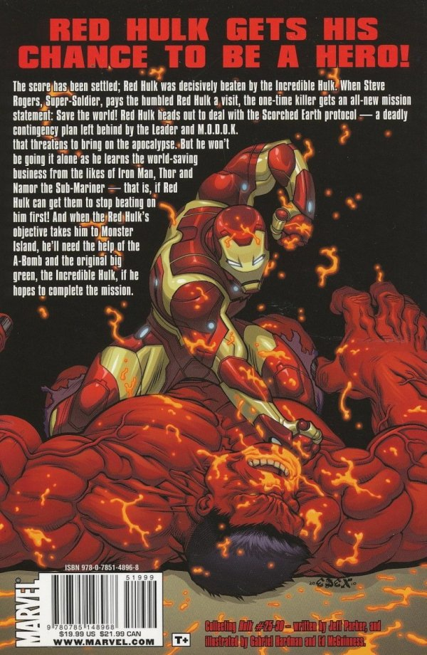 RED HULK SCORCHED EARTH SC