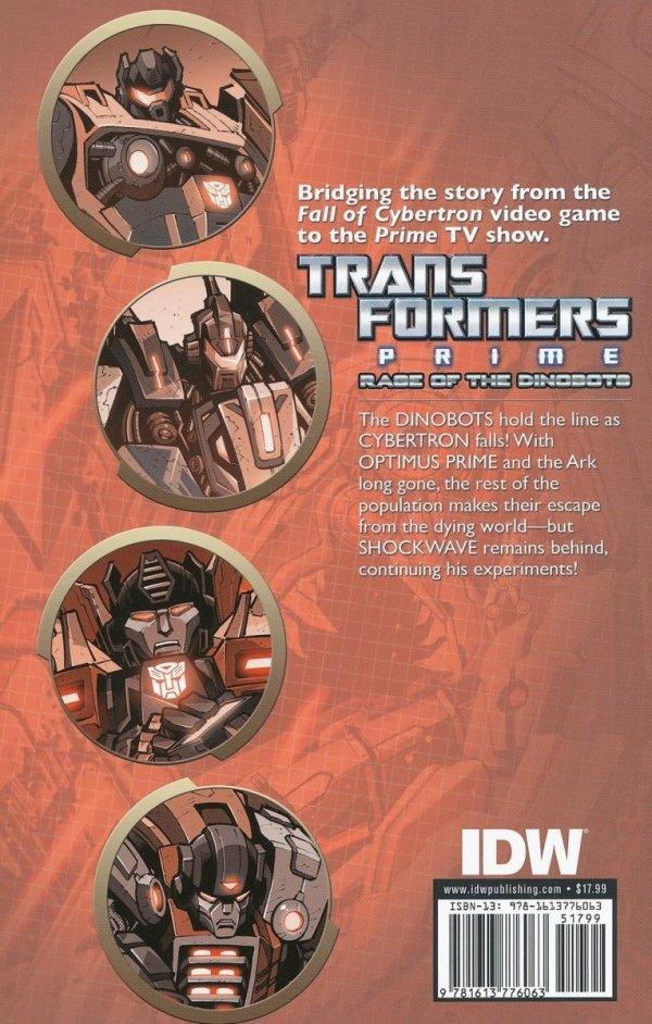 TRANSFORMERS PRIME RAGE O/T DINOBOTS TP