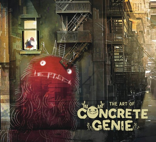 ART OF CONCRETE GENIE HC *