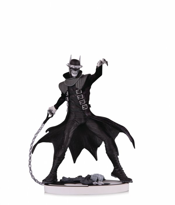 BATMAN BLACK AND WHITE BATMAN WHO LAUGHS 2ND ED STATUE
