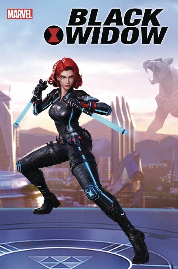 BLACK WIDOW #1 MARVEL SUPER WAR VAR *