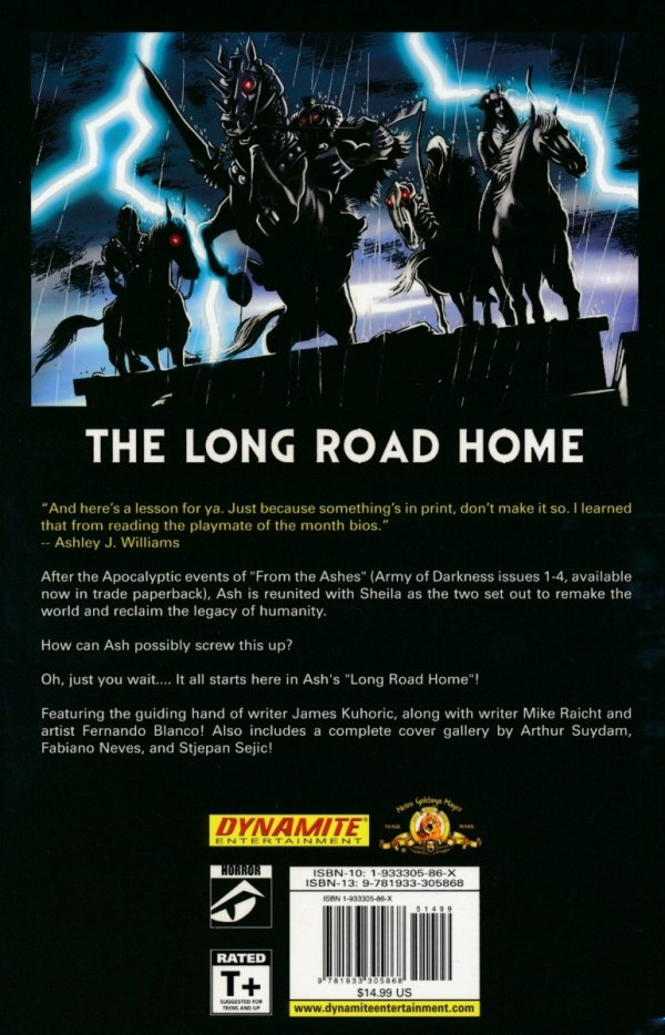 ARMY OF DARKNESS THE LONG ROAD HOME SC **