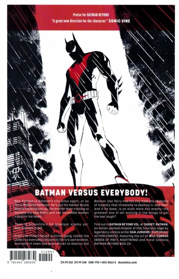 BATMAN BEYOND VOL 04 TARGET BATMAN SC