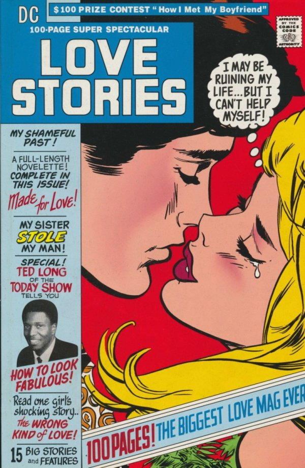 DC 100 PAGE SUPER SPECTACULAR LOVE STORIES REPLICA EDITION