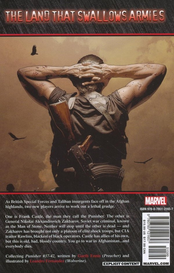 PUNISHER VOL 07 MAN OF STONE SC