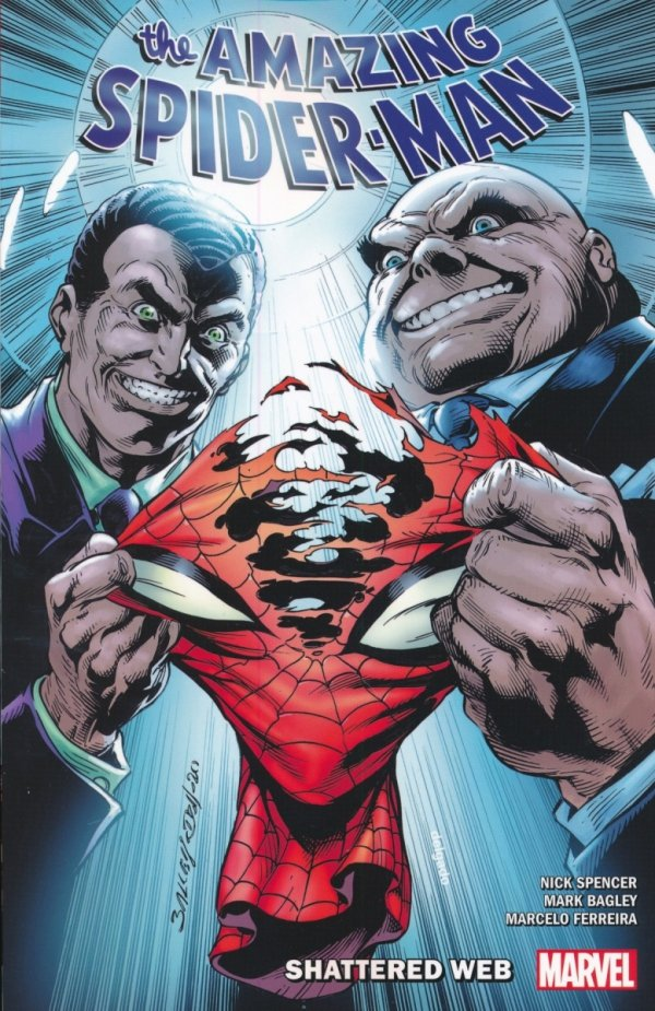 AMAZING SPIDER-MAN BY NICK SPENCER TP VOL 12 SHATTERED WEB