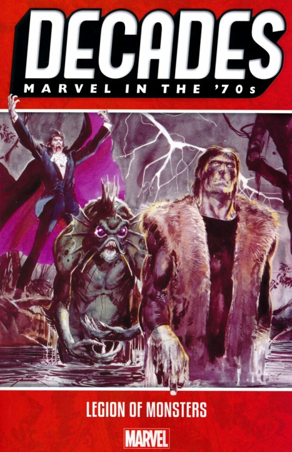 DECADES MARVEL IN THE 70S LEGION OF MONSTERS SC