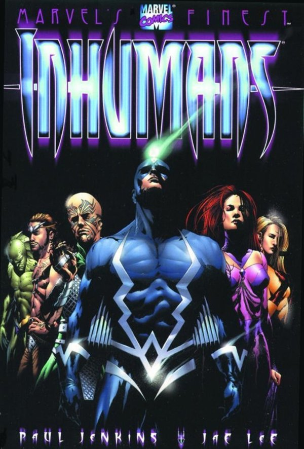 INHUMANS BY PAUL JENKINS AND JAE LEE SC (OLD EDITION) *