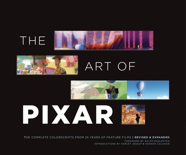 ART OF PIXAR COMP COLOR SCRIPTS 25 YEARS REVISED & EXPANDED *