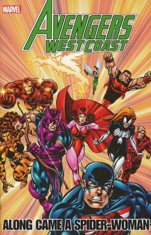 AVENGERS WEST COAST AVENGERS ALONG CAME A SPIDER-WOMAN SC