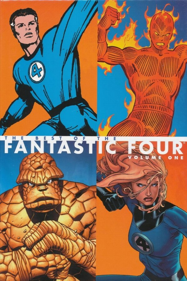 BEST OF THE FANTASTIC FOUR HC VOL 01