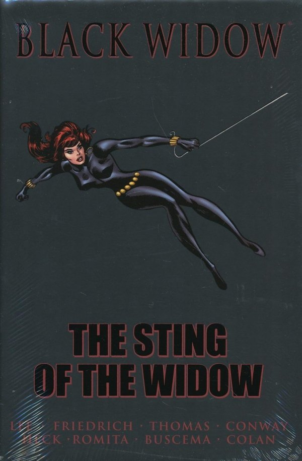 BLACK WIDOW THE STING OF THE WIDOW HC (STANDARD COVER) *