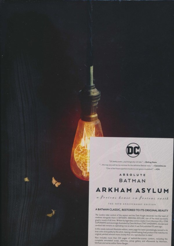 ABSOLUTE BATMAN ARKHAM ASYLUM 30TH ANNIVERSARY EDITION HC (BOX)