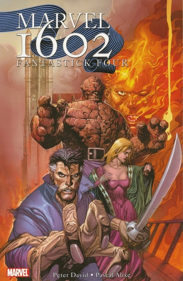 MARVEL 1602 FANTASTICK FOUR SC
