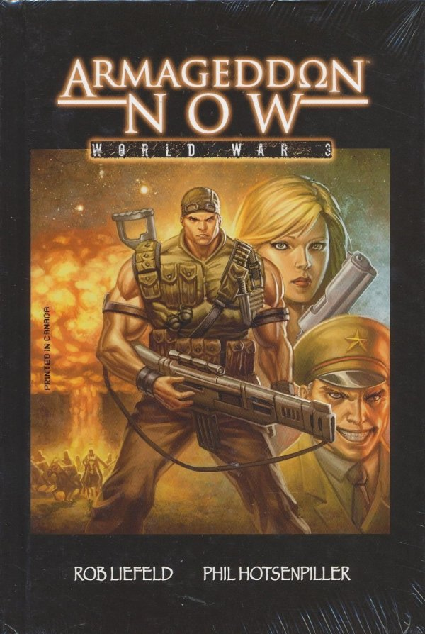 ARMAGEDDON NOW WORLD WAR III VOL 01 HC