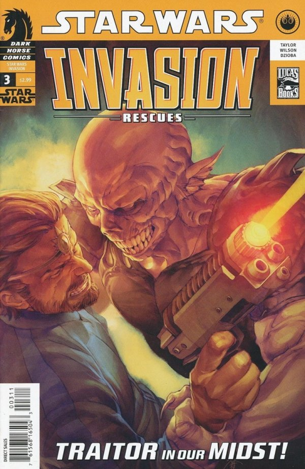 STAR WARS INVASION RESCUES #3
