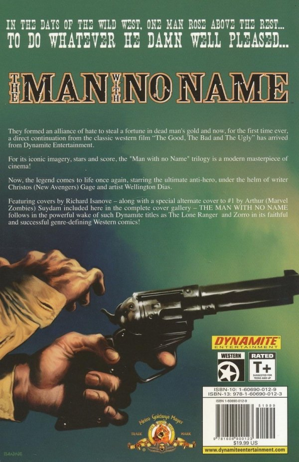 MAN WITH NO NAME TP VOL 01 SINNERS & SAINTS