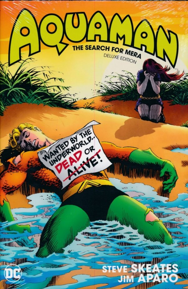 AQUAMAN THE SEARCH FOR MERA DELUXE EDITION HC