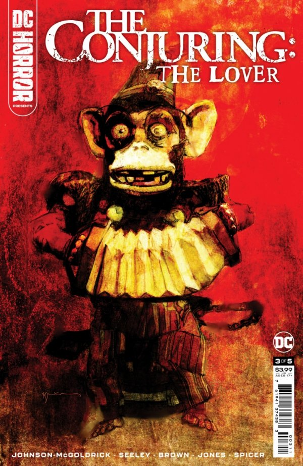 DC HORROR PRESENTS THE CONJURING THE LOVER #3 CVR A BILL SIENKIEWICZ