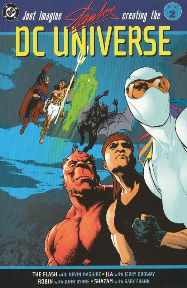JUST IMAGINE STAN LEE CREATING THE DC UNIVERSE VOL 02 SC (OLD EDITION)