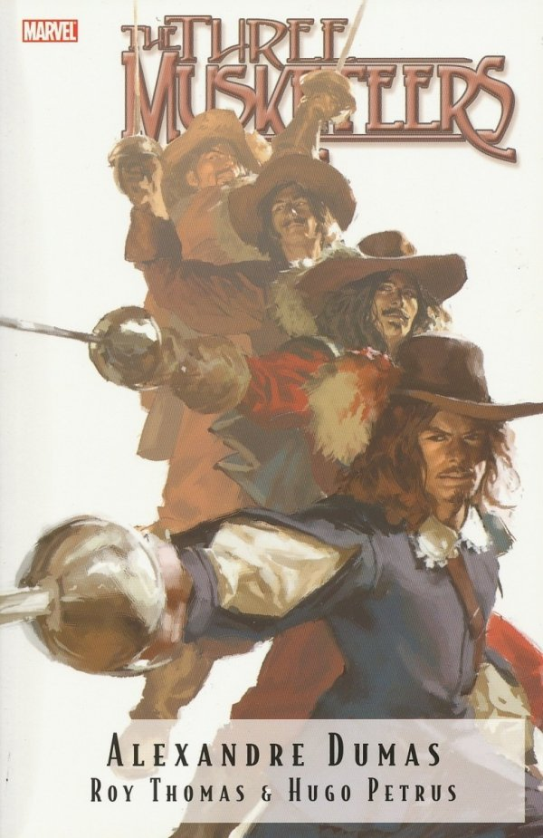 MARVEL ILLUSTRATED THE THREE MUSKETEERS SC