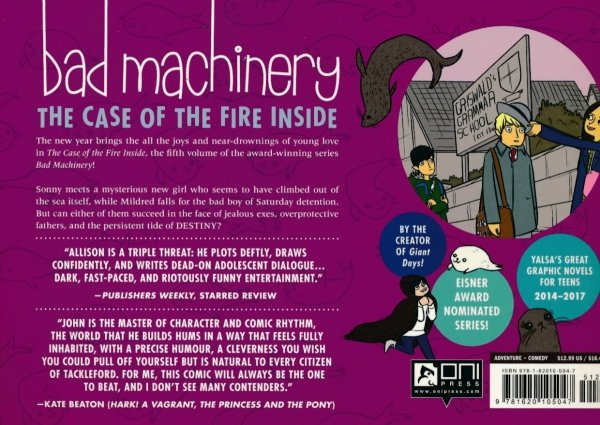 BAD MACHINERY VOL 05 THE CASE OF THE FIRE INSIDE SC