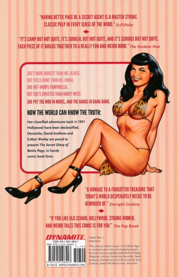 BETTIE PAGE VOL 01 BETTIE IN HOLLYWOOD SC