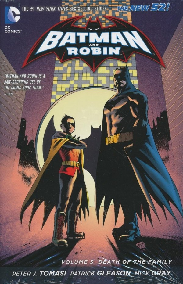 BATMAN AND ROBIN VOL 03 DEATH OF THE FAMILY HC