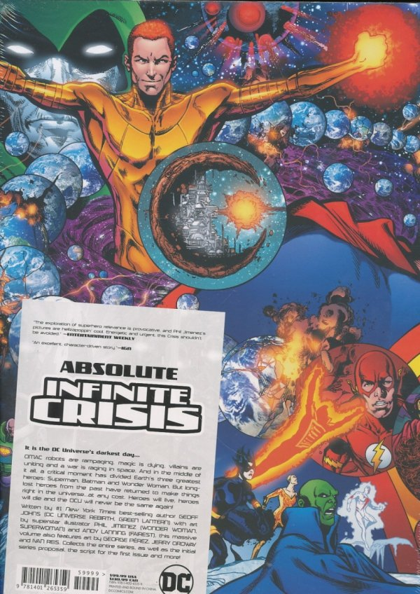 ABSOLUTE INFINITE CRISIS HC (BOX)