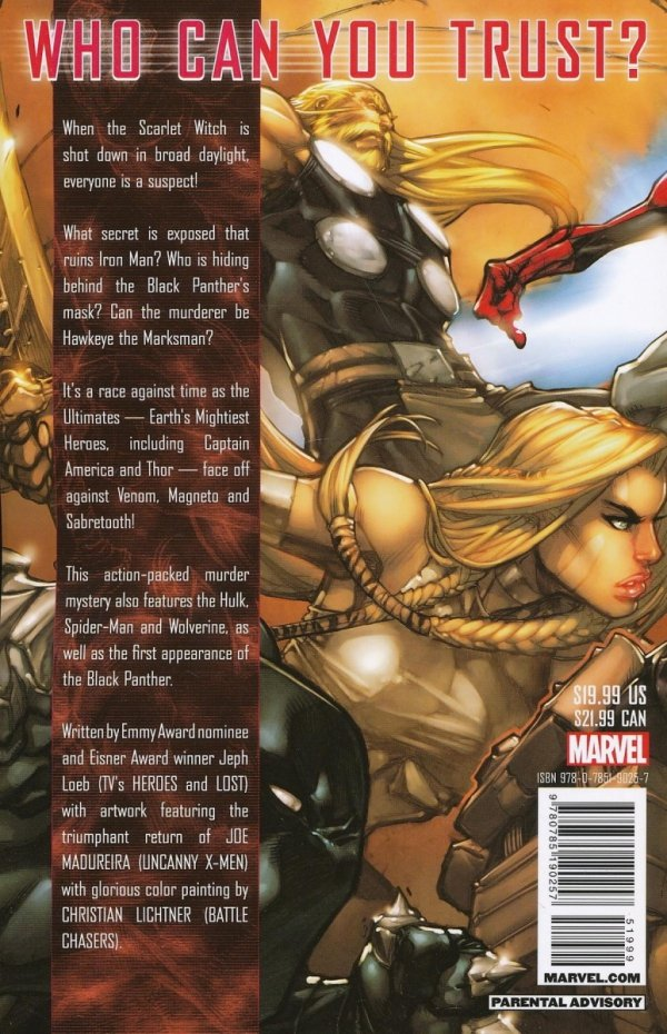 ULTIMATES 3 WHO KILLED THE SCARLET WITCH SC (NEW EDITION)