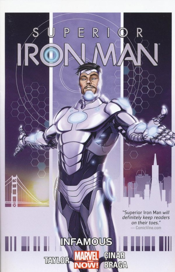 SUPERIOR IRON MAN TP VOL 01 INFAMOUS
