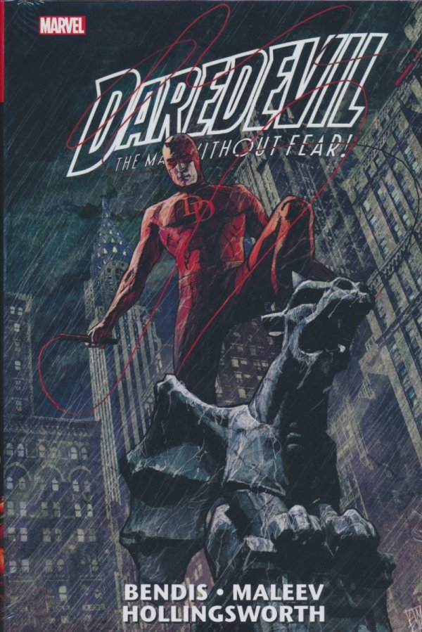 DAREDEVIL THE MAN WITHOUT FEAR OMNIBUS VOL 01 HC (BENDIS) (NEW EDITION)