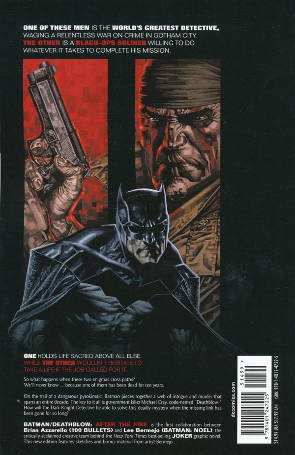 BATMAN DEATHBLOW AFTER THE FIRE SC (NEW EDITION)