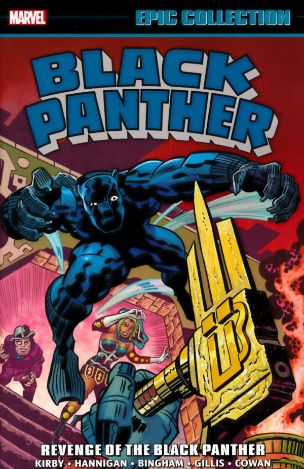 BLACK PANTHER EPIC COLLECTION REVENGE OF THE BLACK PANTHER SC