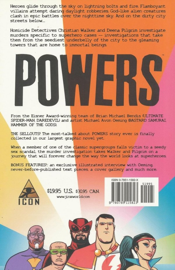 POWERS VOL 06 THE SELLOUTS SC