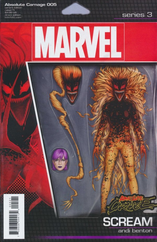 ABSOLUTE CARNAGE #5 CHRISTOPHER ACTION FIGURE VAR