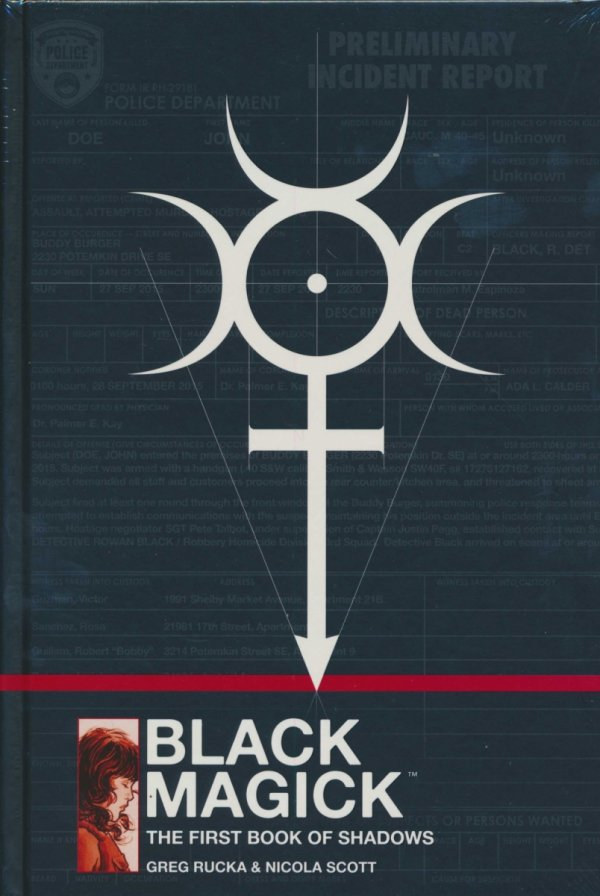 BLACK MAGICK THE FIRST BOOK OF SHADOWS HC