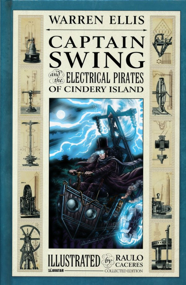 CAPTAIN SWING AND THE ELECTRICAL PIRATES OF CINDERY ISLAND HC