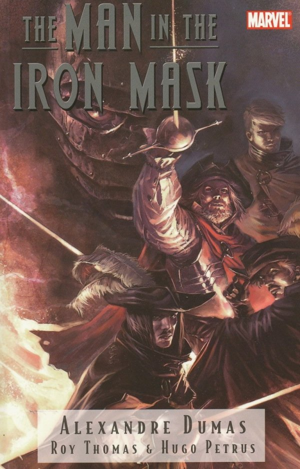 MARVEL ILLUSTRATED THE MAN IN THE IRON MASK SC