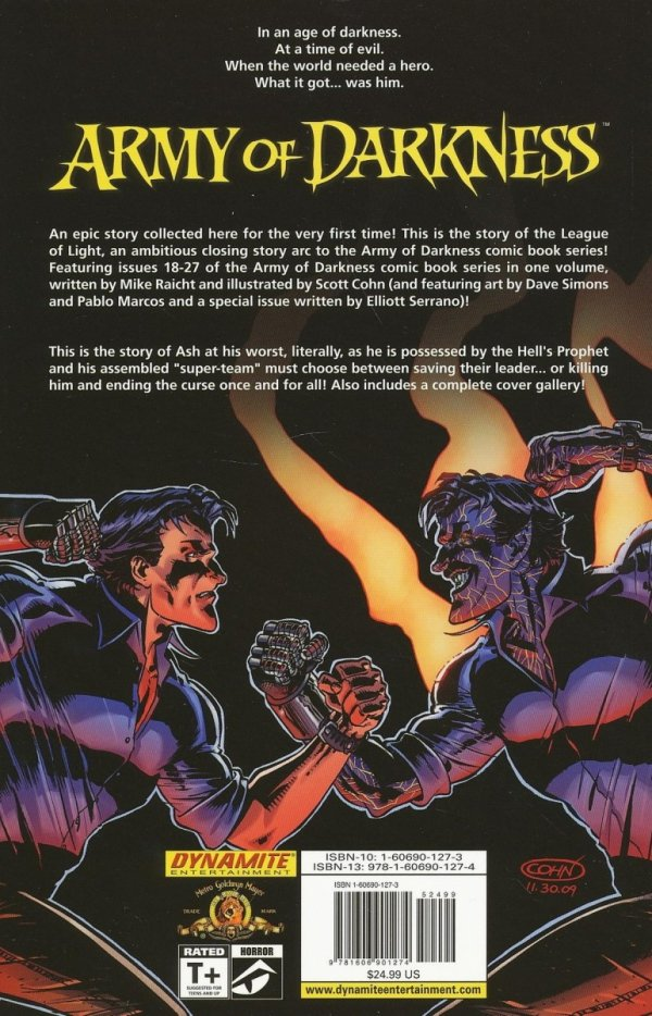 ARMY OF DARKNESS LEAGUE OF LIGHT TP
