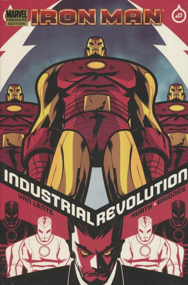 IRON MAN INDUSTRIAL REVOLUTION PREM HC