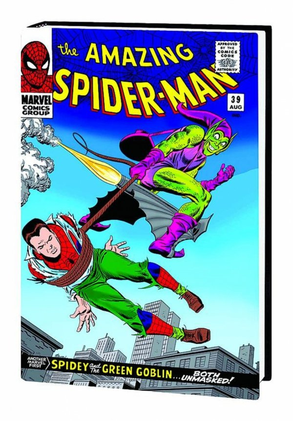 AMAZING SPIDER-MAN OMNIBUS VOL 02 HC (OLD EDITION) (VARIANT COVER) **