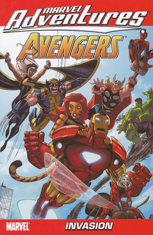 MARVEL ADVENTURES AVENGERS VOL 10 DIGEST SC *