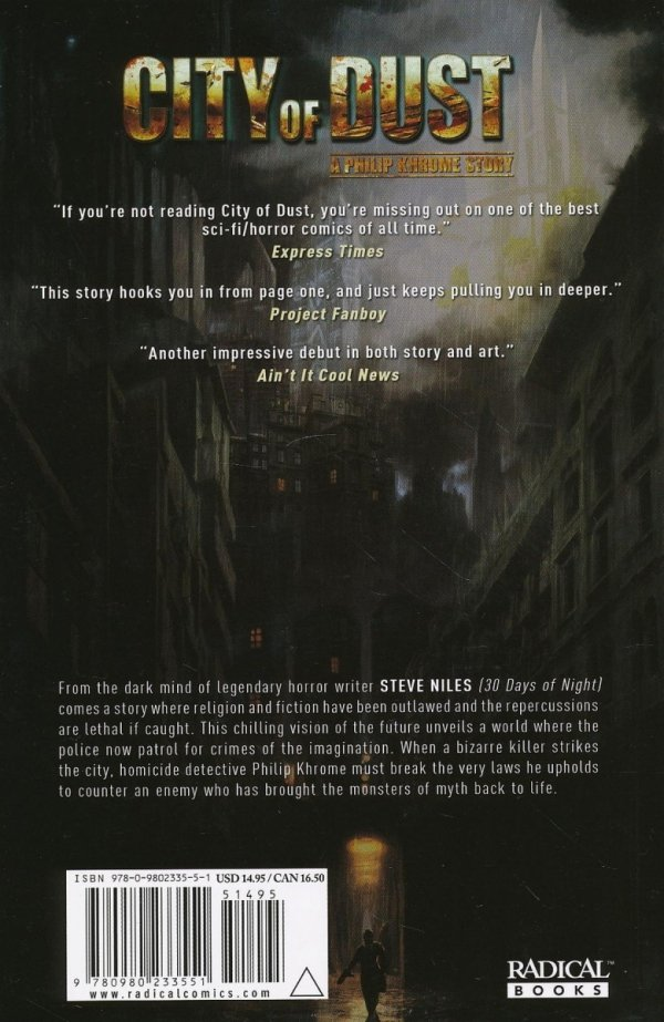 CITY OF DUST A PHILIP KHROME STORY SC