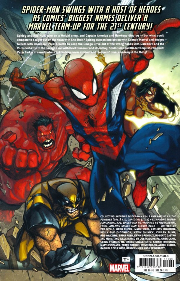 AVENGING SPIDER-MAN THE COMPLETE COLLECTION SC