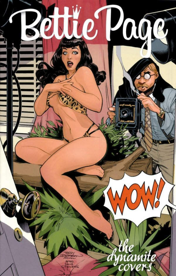 BETTIE PAGE DYNAMITE COVERS